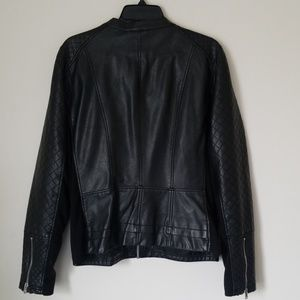 Kenneth Cole Reaction Jackets & Coats - Kenneth Cole Reaction Black Faux Leather Jacket